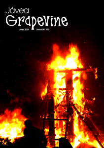 June 2014 Javea Grapevine Cover